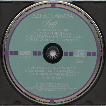 Aztec Camera-Knife