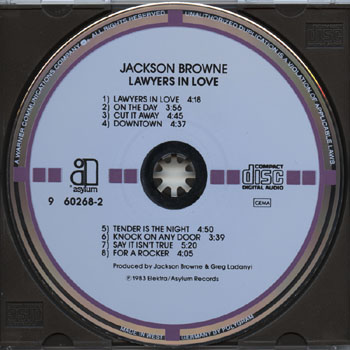 Jackson Browne-Lawyers In Love