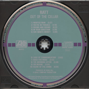 Ratt-Out Of The Cellar