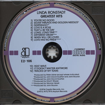 Linda Ronstadt-Greatest Hits