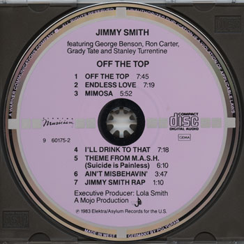 Jimmy Smith-Off The Top