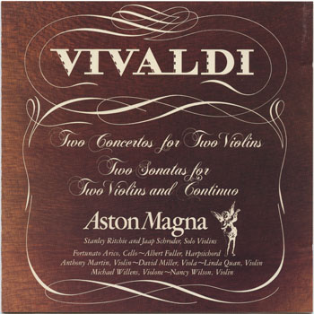 Aston Magna-Vivaldi, Antonio: Concertos & Sonatas For Two Violins And Continuo